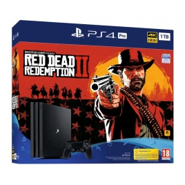 Consola Sony PS4 PRO 1TB + red Dead Redemption II Black