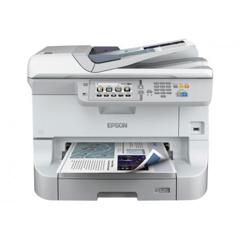 Impresora Epson Multifuncion Workforce PRO WF-8510DWF A3+ 34PPM USB FAX