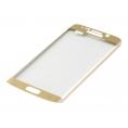 Protector de Pantalla Titan Shield Cristal Templado 3D para Galaxy S6 Edge Gold