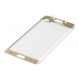 Protector de Pantalla Titan Shield Cristal Templado 3D para Galaxy S6 Edge+ Gold