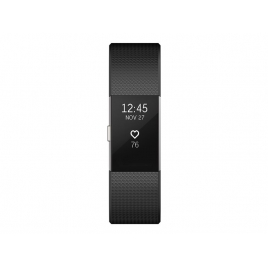 Pulsera Deportiva Fitbit Charge 2 L Black Silver