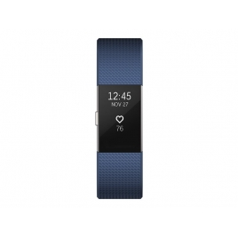 Pulsera Deportiva Fitbit Charge 2 L Blue Silver