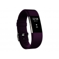 Pulsera Deportiva Fitbit Charge 2 L Plum Silver