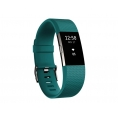 Pulsera Deportiva Fitbit Charge 2 L Teal Silver