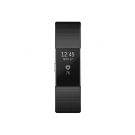 Pulsera Deportiva Fitbit Charge 2 S Black Silver