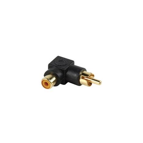 Adaptador Kablex RCA Macho / RCA Hembra EN L