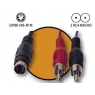 Cable Kablex Svhs 4P Macho / 2X RCA Macho 1.5M