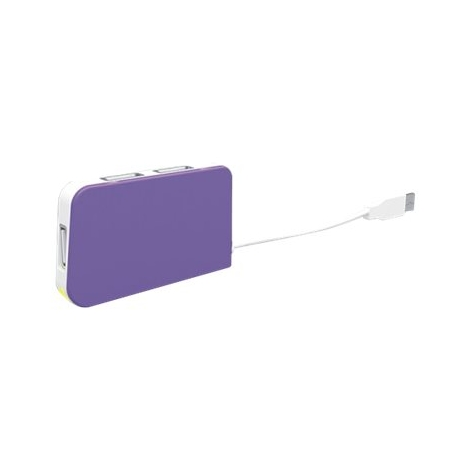 HUB Approx USB 4 Puertos Purple