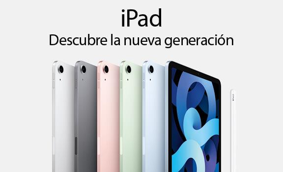 iPad. Descubre la nueva generación