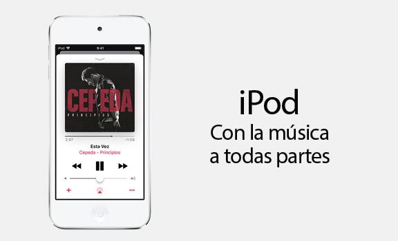 iPod. Con la música a todas partes