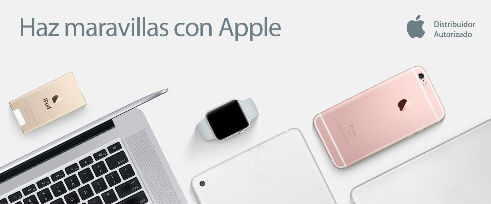 Haz maravillas con Apple