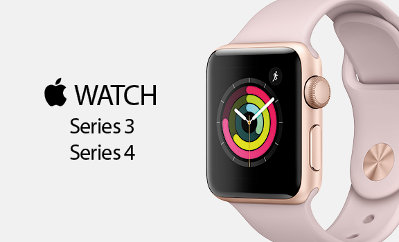 Apple Watch Serie 4 y Serie 3