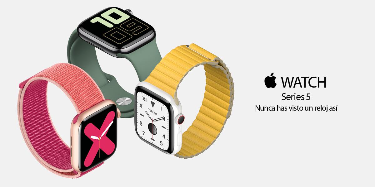 Apple Watch Serie 5. Nunca has visto un reloj así